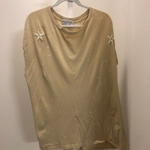 Wildfox oversized top with stars.